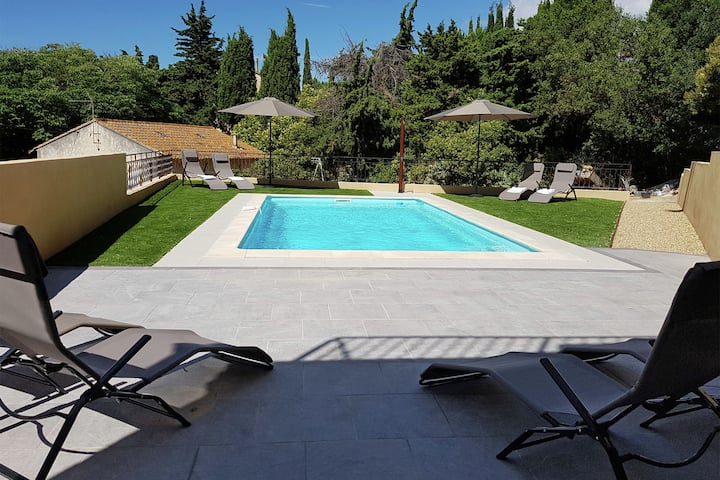 Luxurious Villa in Montouliers with Private Pool
