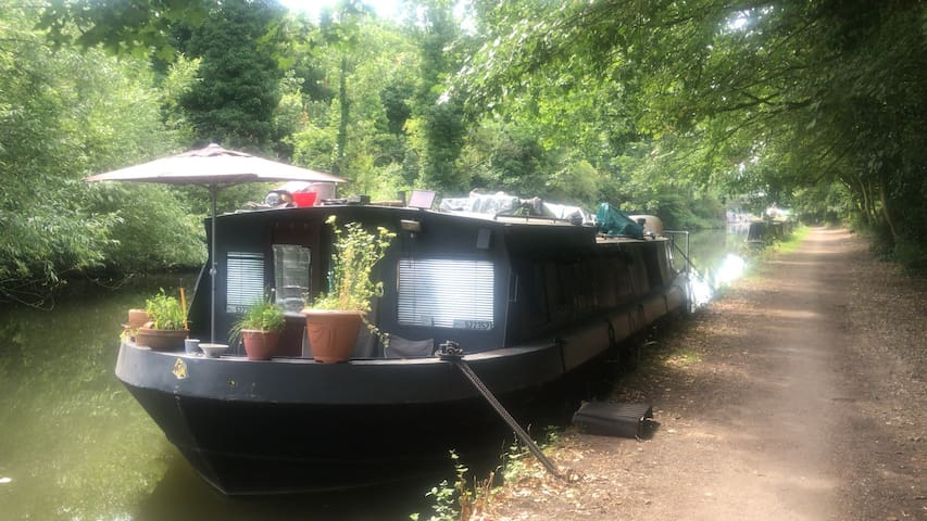 Boat Sanctuary in Natural Beauty & close to London