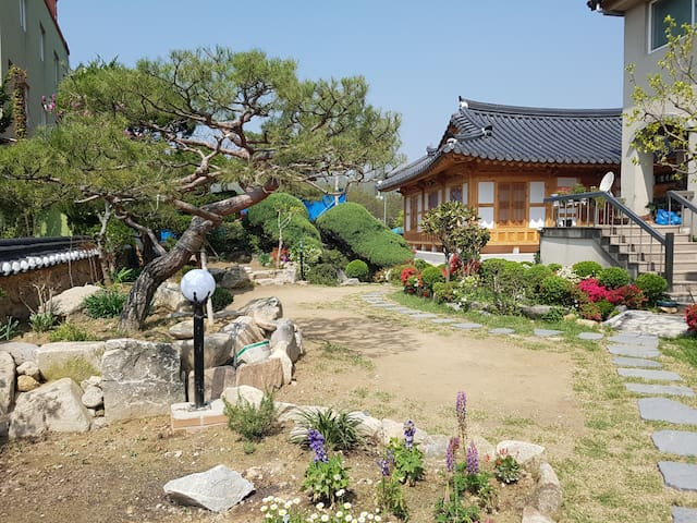 금마 전통 한옥 게스트하우스(사랑방) - Geumma-myeon, Iksan-si - Ek ev