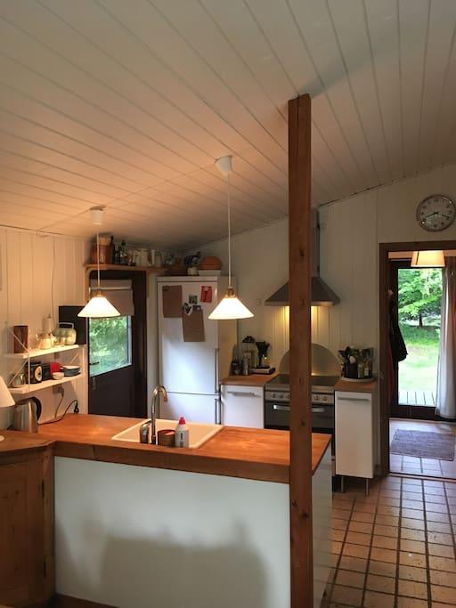 Køkken/køkkenalrum