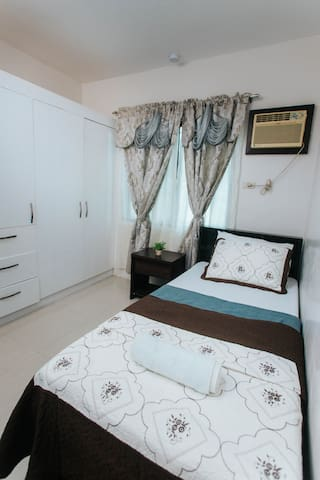 Enjoy your vacation with a private closet to store your things during your stay.