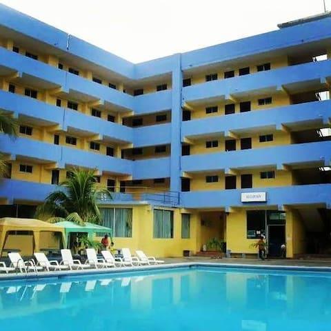 HOTEL frente al MAR Atacames, GRAND HOTEL PARAISO - Atacames Canton