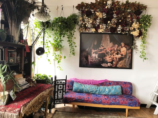 Private room in The Artist's Loft