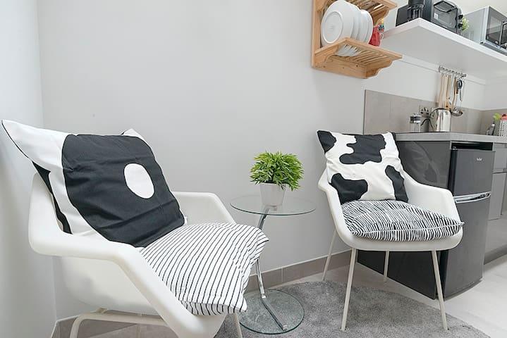Comfortable Luxe Micro Apartment