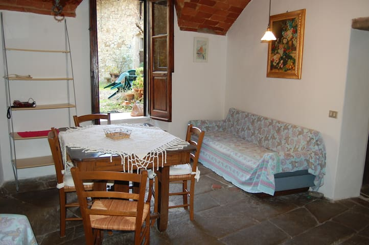 Garden house with pool Tuscany - Pieve A Presciano - Appartement
