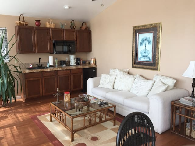 Waterfront Apt Close to Savannah, Brunswick. - Midway - Appartement