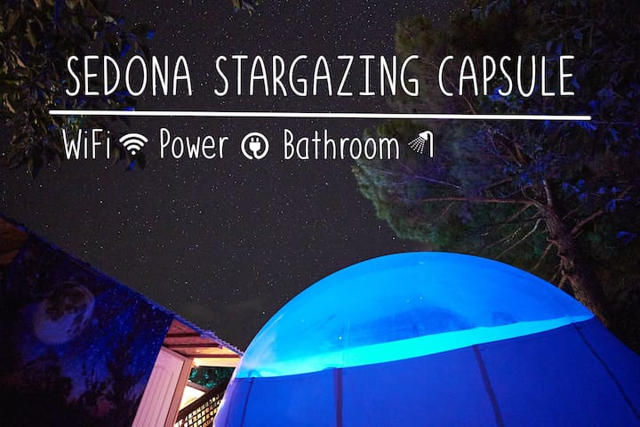 Rest in Comfort in Our Amazing Star Gazing Pod
