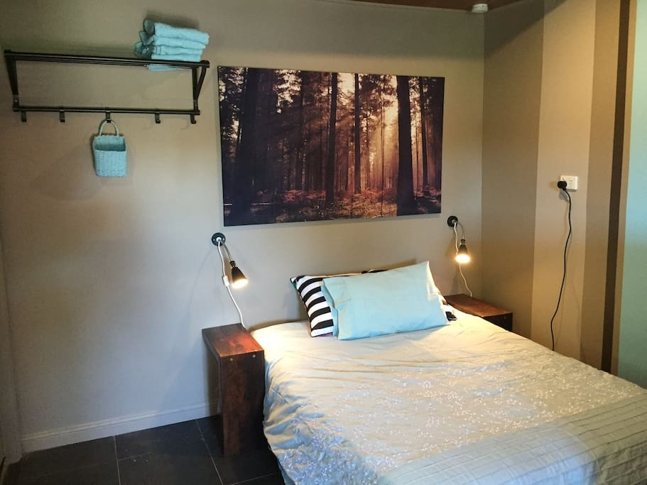 Double Bed with tv and a/c