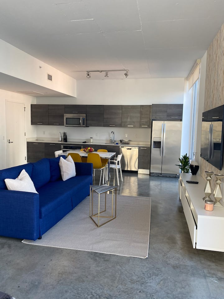 Downtown brickell New apartment near Bayside