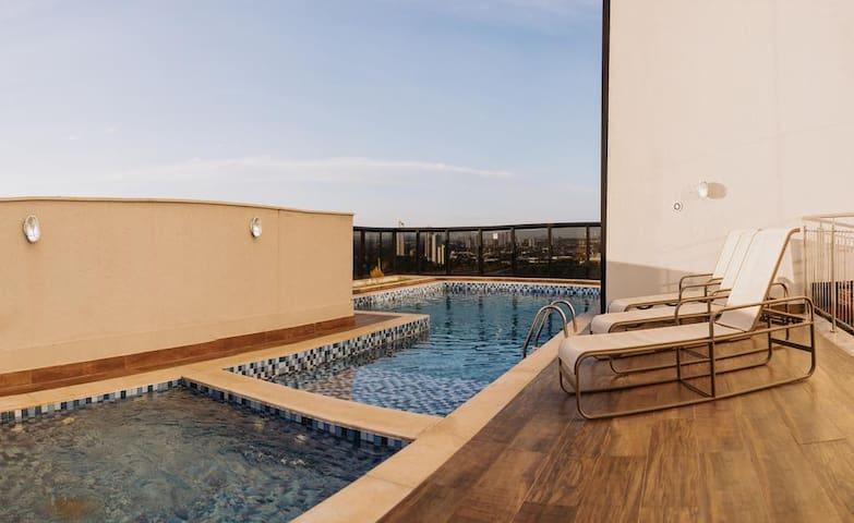 O Melhor hotel da cidade no centro de Palmas