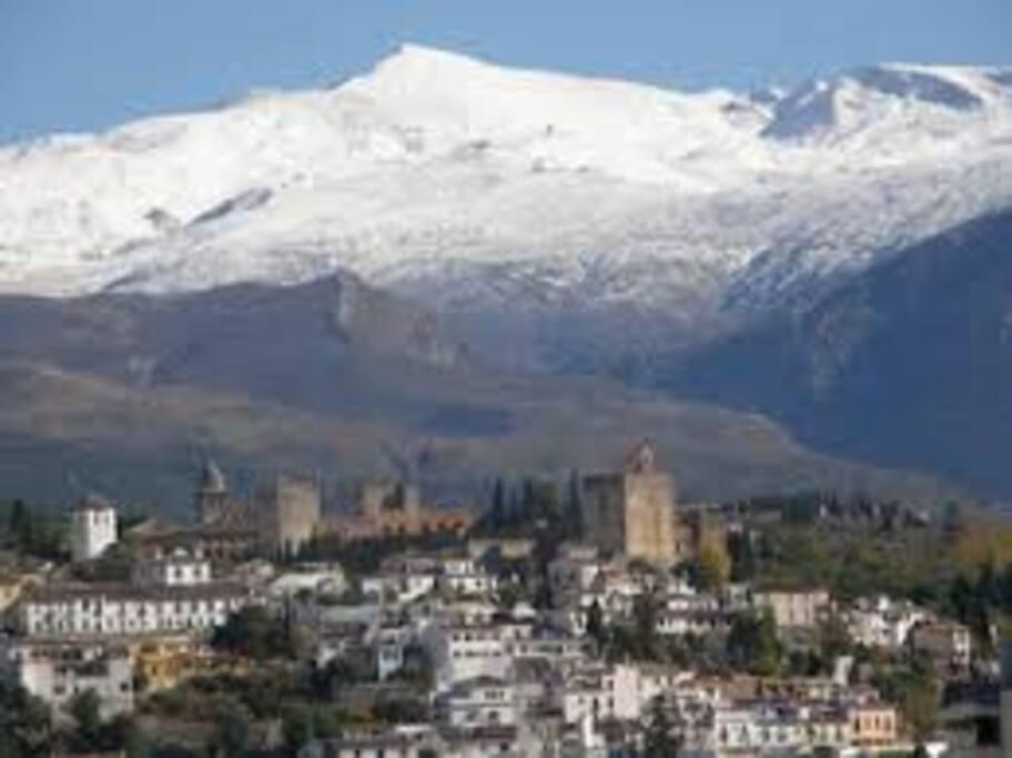 Vista panorámica de Sierra Nevada Granada
