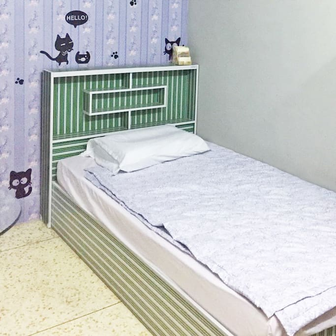 Meow Bed Room