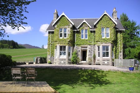 Private Hire House, Hot Tub, 5 bedrooms/5 bathroom - Pitlochry - บ้าน