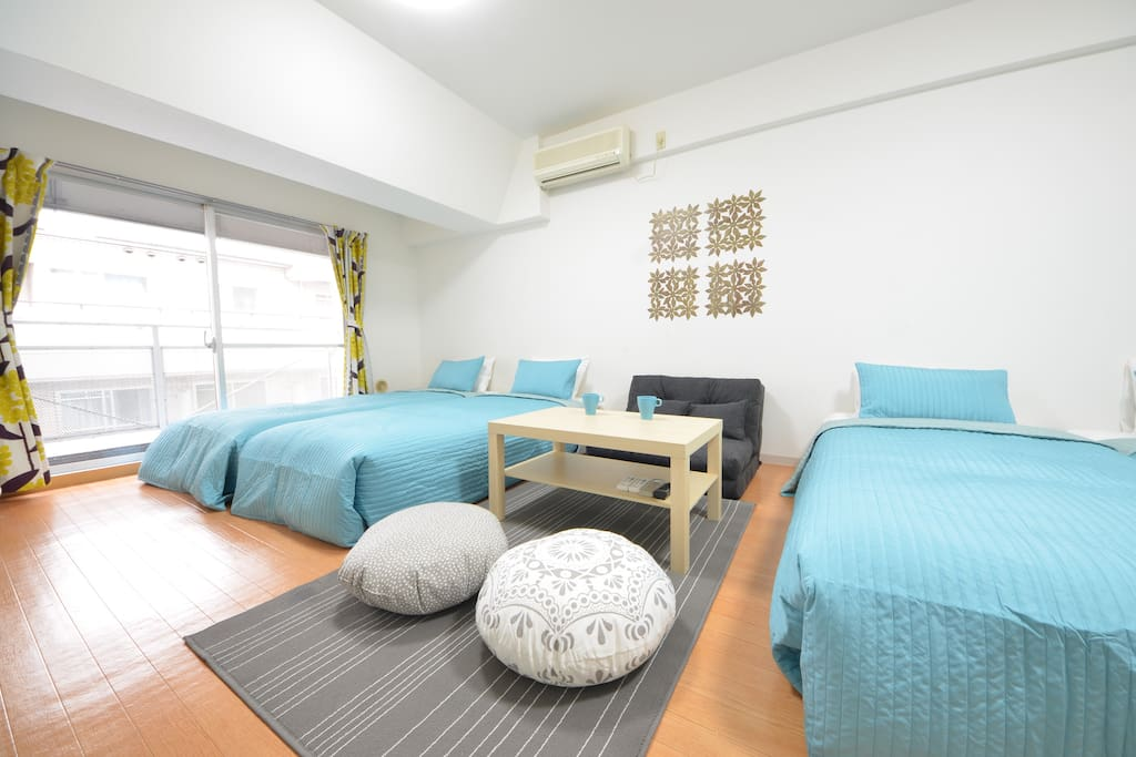 Spacious and blightly room. 広くて明るいお部屋です。 寬敞又明亮