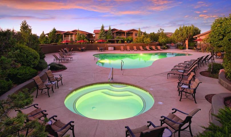 Wyndham Sedona Resort in a 2 BEDROOM