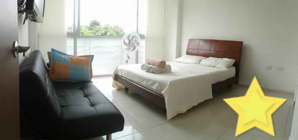 Habitación privada en Condominio moderno piscina - Neiva - Bed & Breakfast