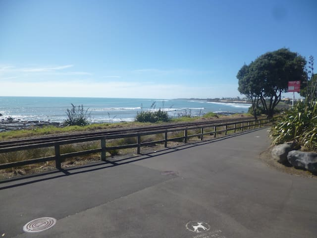 Coastal apartment in the city centre - New Plymouth - Apartment
