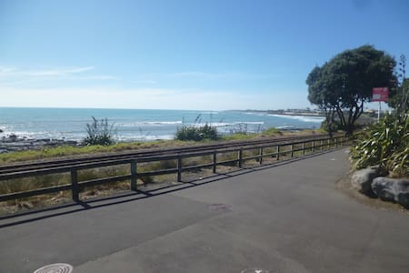 Coastal apartment in the city centre - New Plymouth