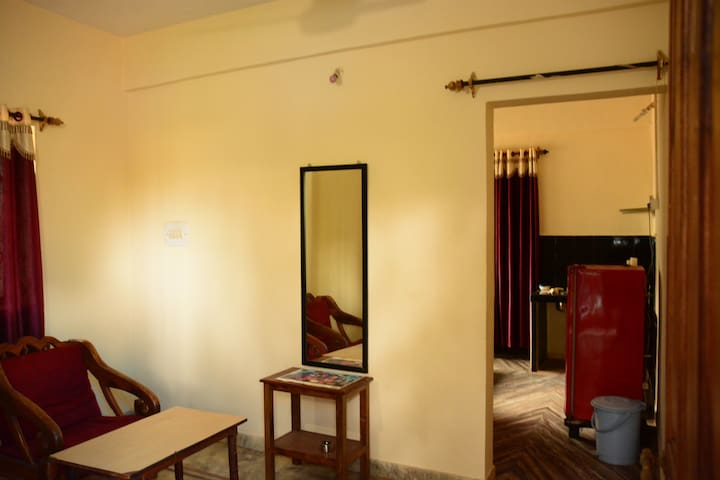 Beach vacation in Delux AC 1BHK Apartment  Morjim - Morjim