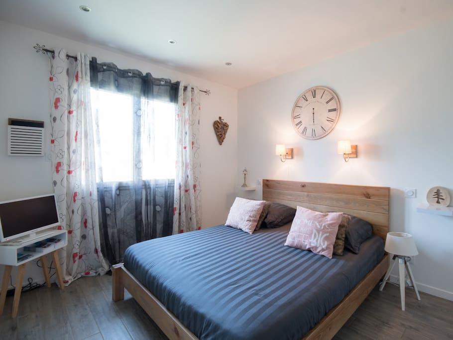 chambres d 39 h tes avec piscine chauff e et spa chambres d 39 h tes louer tr guidel c tes d. Black Bedroom Furniture Sets. Home Design Ideas