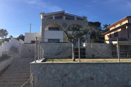 Blu apartment in villa by the sea - Augusta - Apartament