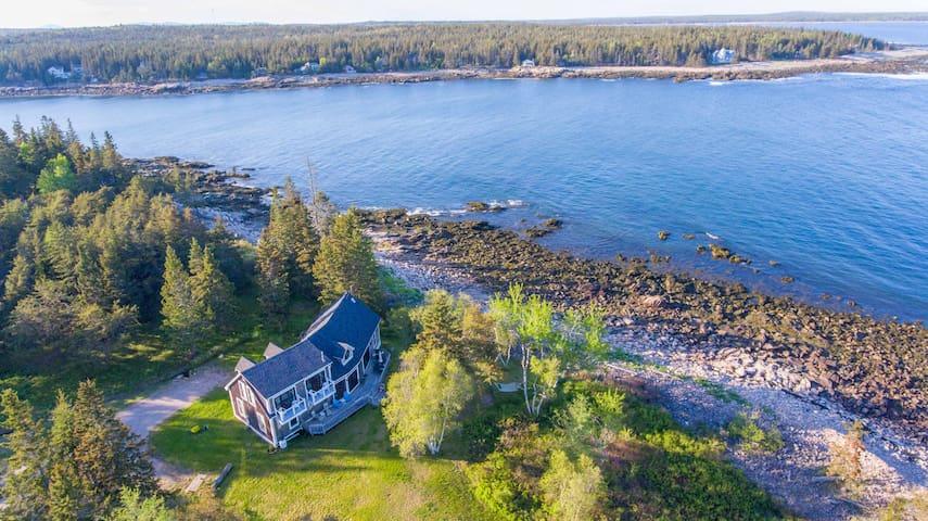 Oceanfront Estate Located On Private Peninsula