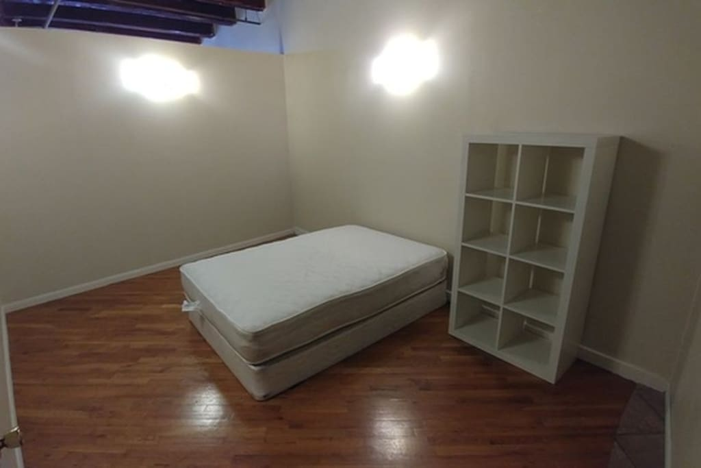 Bedroom. Sheets and covers provided.