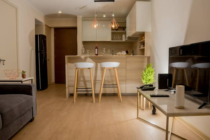 ☆Vibrant Barranco Apartment II☆ Free Parking
