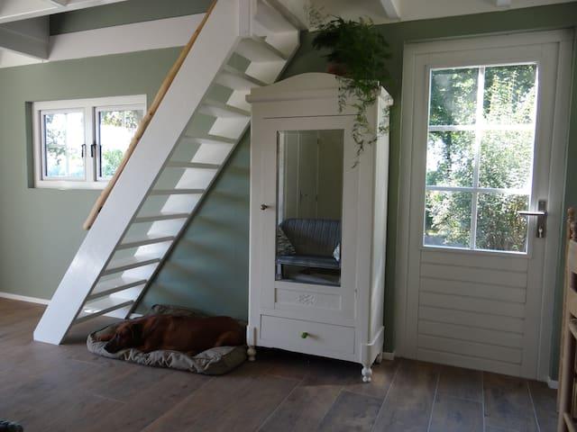 Tiny house De Green Cottage met alle voorzieningen