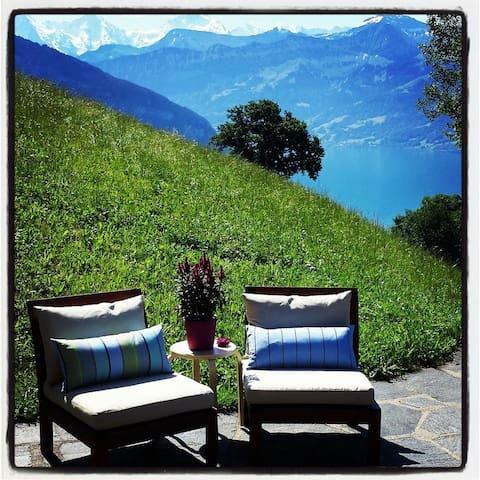 Swiss Alps & Lakes Splendid B&B (4) - Sigriswil - Wikt i opierunek