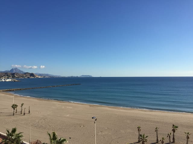 CAMPELLO SEAFRONT apartment with spectacular views - El Campello - Pis