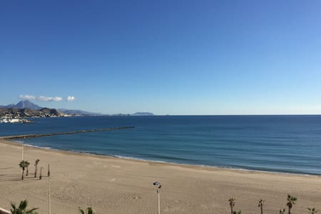 CAMPELLO SEAFRONT apartment with spectacular views - El Campello - 公寓