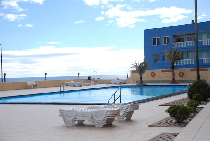 TENERIFE WITH SWIMMING POOLS ON THE BEACH