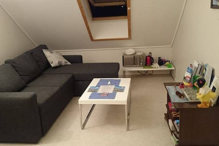 Private, separated room in town. Free parking - Alesund - Apartamento