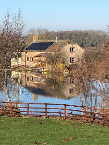 Astwell Mill - Beautiful 17th century water mill.