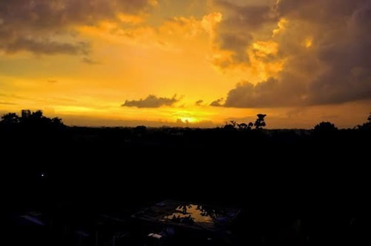 Merapi Mountain Sunrise View Apartment - Ngaglik - Apartmen