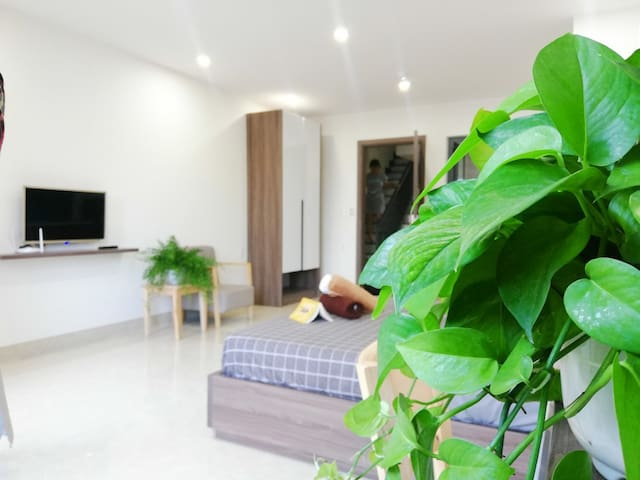 Balcony Studio * Long or Short term * Cheap Price