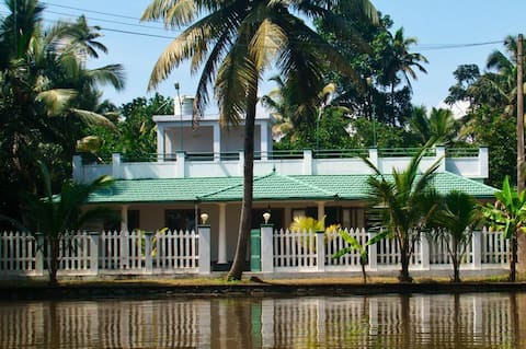 SWASTHI - River Front House. WORK AWAY FROM HOME