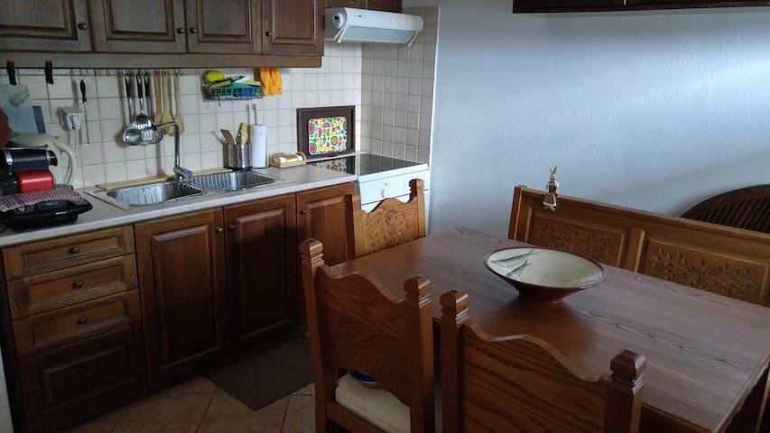 Μεζονέτα στο πανέμορφο χωριό των Μηλεών - Volos - Apartamento