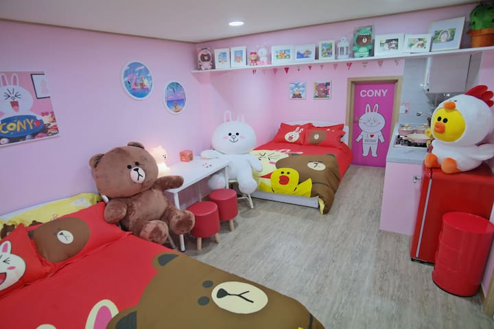 NEW !! Myeong-Dong (House rent) # LINE FRIENDS #