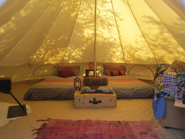 'Bells and Thistles' off-grid comfort camping 2 - Ennis - Tent