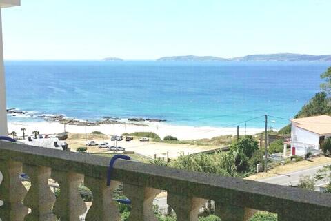 Apartamento ático, playa de Pragueira, Sanxenxo