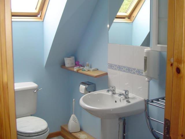 Twin Room - Shared Facilities - First Floor - Upstairs Bathroom