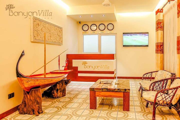 Banyan villa Maldives - Dhangethi