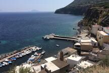 Petit port de Malfa