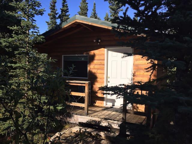 Denali Park cabins at Aspen Haus-Willow Cabin