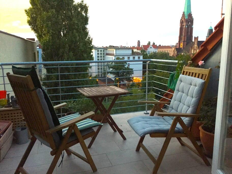 20 sqm Terrace
