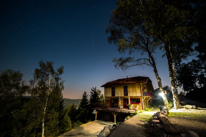 Chalet Luxe Montagne  10 à 13 pers-VOSGES - LE THOLY - Chalupa