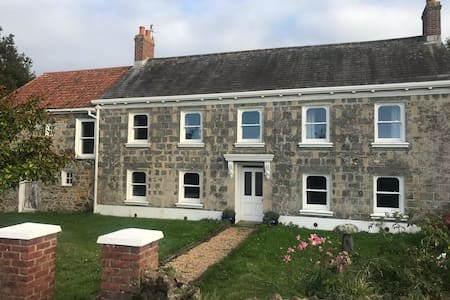 A traditional farmhouse in Guernsey