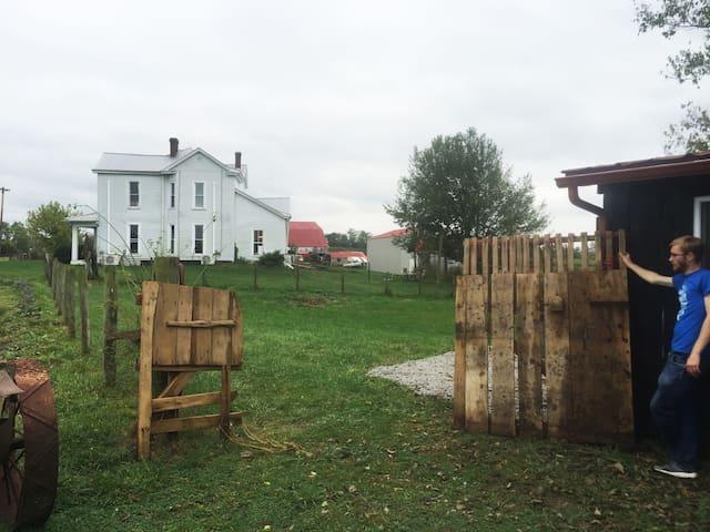 The 1880 farm house